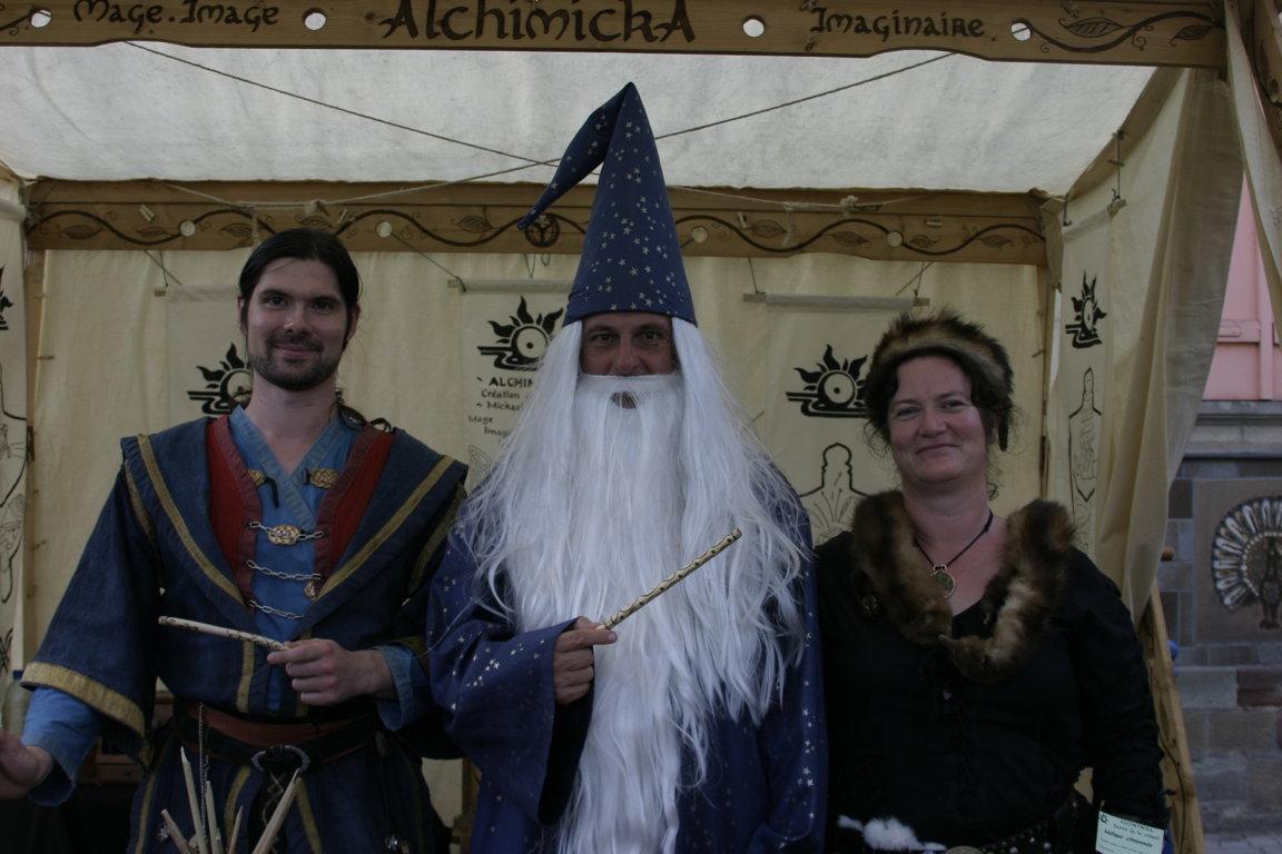 Yggdrasyl'v Sylvie Joigneau merlin Alchimicka