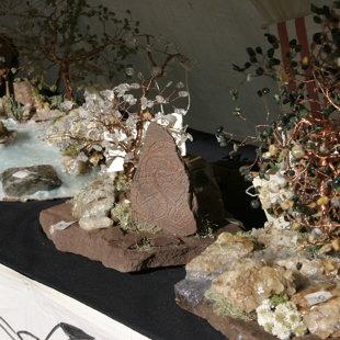 Yggdrasyl'v arbre de vie pierre runique