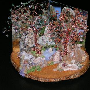 Yggdrasyl'v arbres de vie composition